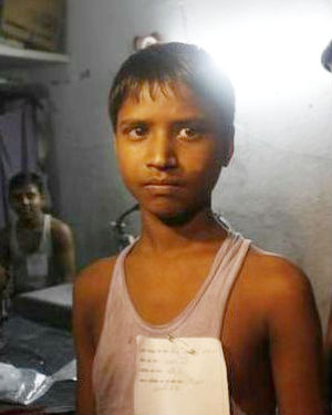 18 year old boy trafficked for labour in restaurant