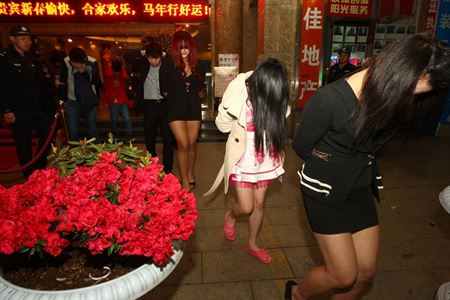 Chinese sex workers arrested in Germany