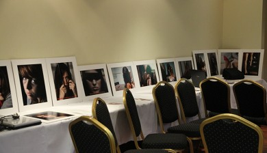Tirzah conference photo exhibition at the Pearse Hotel